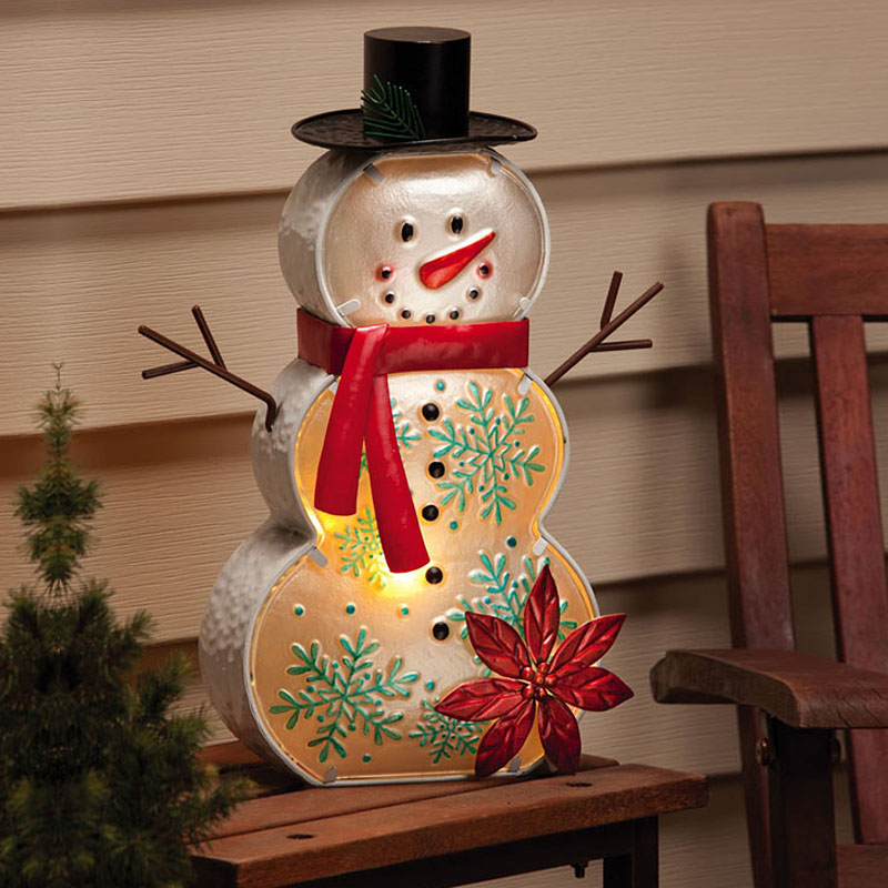 Evergreen Snowman Electric Lamp at Sears.com