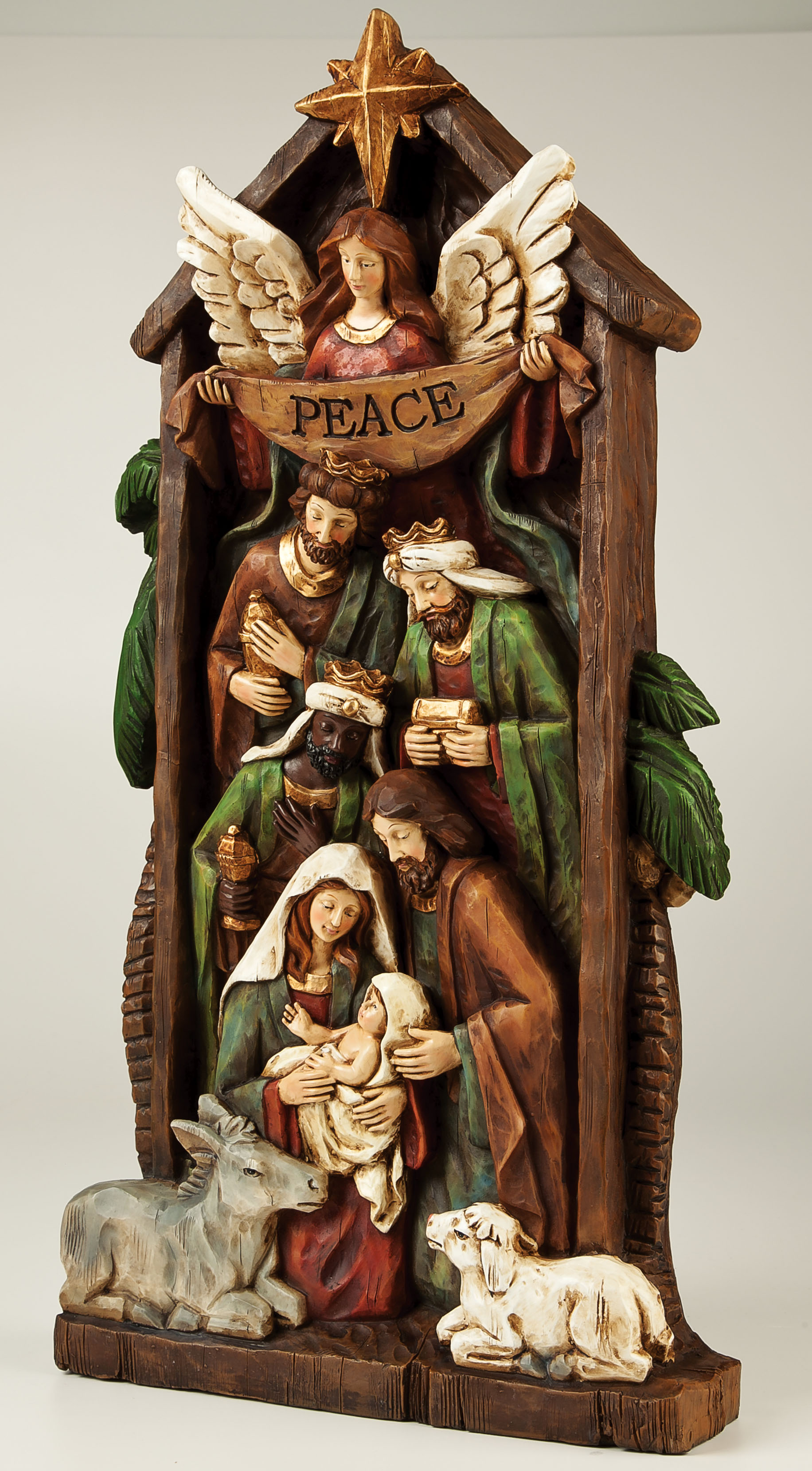 Evergreen Nativity Wall Decor  outdoor decor at Sears.com